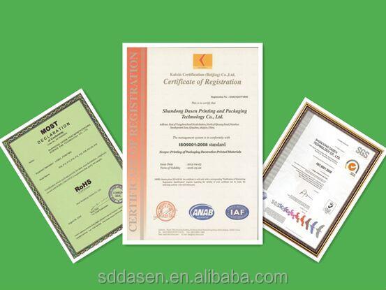 Personalizado impresso papel de embrulho de presente do ouro metálico