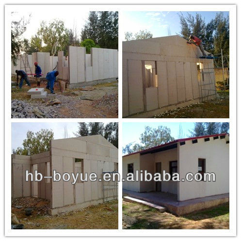 Rapid Construction House Wall Panel Movable House Panel