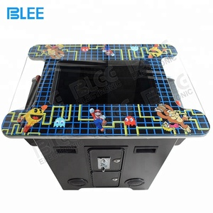 Coin operated 2 players 60 in 1 games mini cocktail table arcade machine