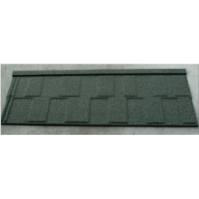 Good Quality Wood Shingle Series Materials Stone Coated Metal Roof Tile
