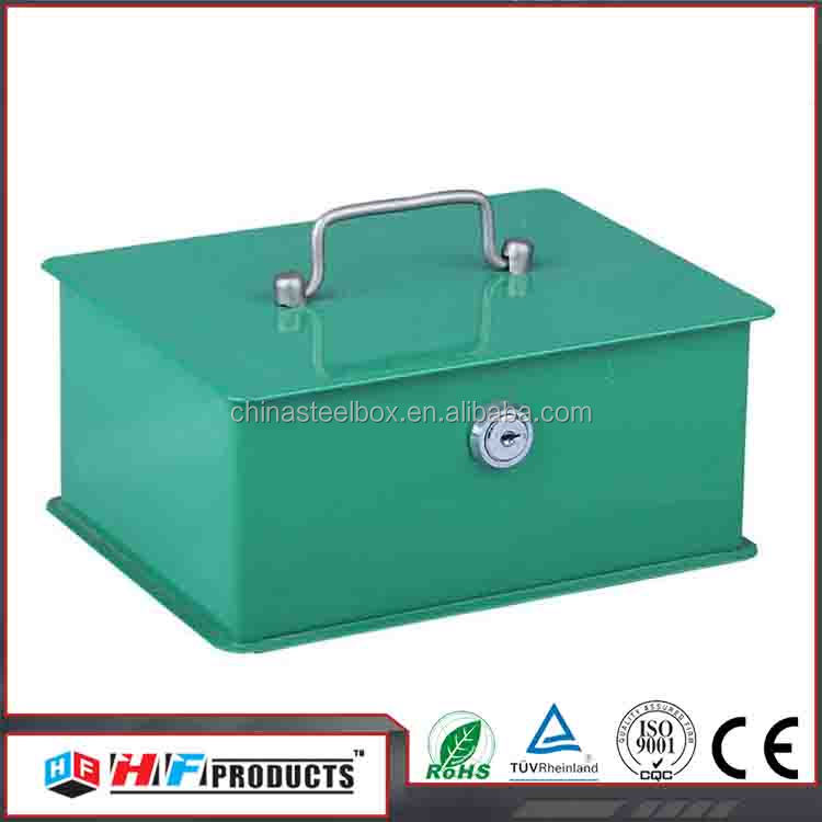 200*155*85mm metal tool box with lock