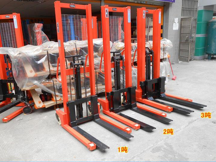 High efficiency lifting equipment Hand hydraulic stacker wholesale