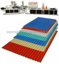 PVC VAGUE de FABRICATION de CARREAUX MACHINE; PVC VAGUE TUILE EXTRUSION PRODUCTION LIGNE