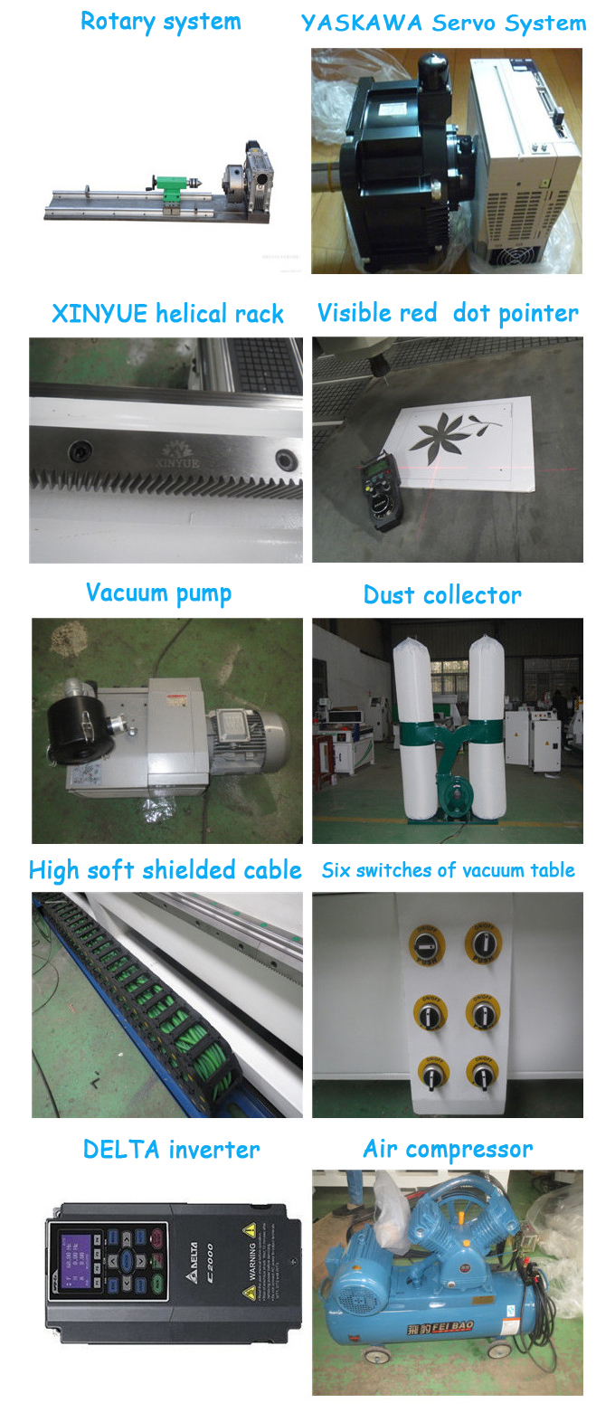 2030 EOT-2/optical reader/TCT-1 computer syntec HSD spindle ATC