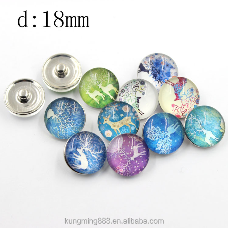 2016 Newest design variety magically pearl amber snap button collection