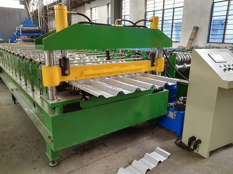 Cnc Metal Corrugated Roof Siding Panel Roll Forming
