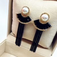 2017 New Stock Fashion tassel earrings charm Long earrings YE1151