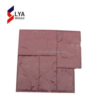 New Design Plastic Pu Decorating Concrete Stamp Molds - Buy Concrete ...