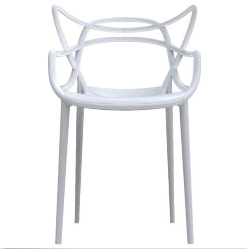 À «master» Fauteuil ModerneEmpilables Chaise Manger Plastique xdeCoB