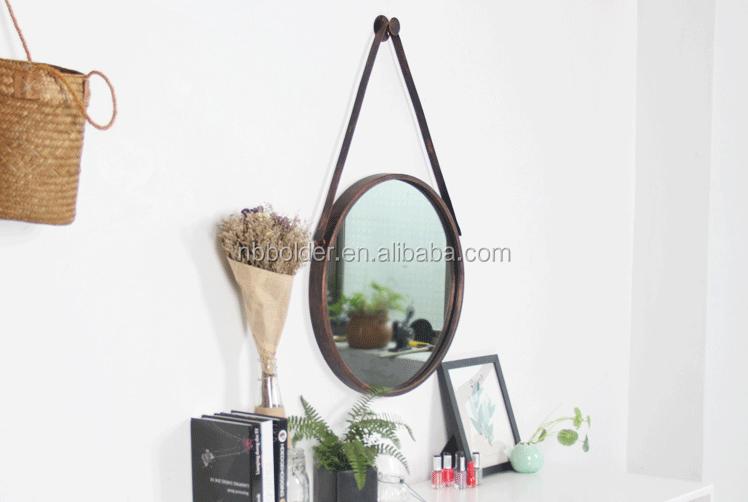 Zwarte Ronde Spiegel : Groothandel decoratieve zwarte metalen ronde spiegel met faux