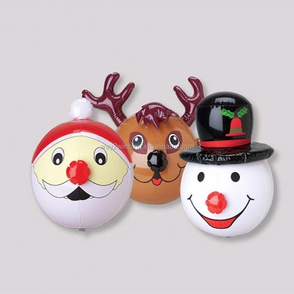 Inflatable Christmas Beach Ball, Inflatable Christmas Beach Ball Suppliers  And Manufacturers At Alibaba