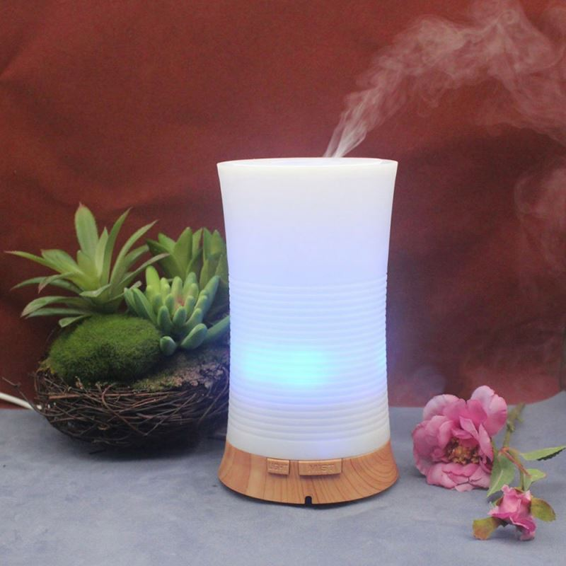 Remote control aroma essential oil humidifier/100ml mini time display aroma lamp diffuser electric fragrance diffuser
