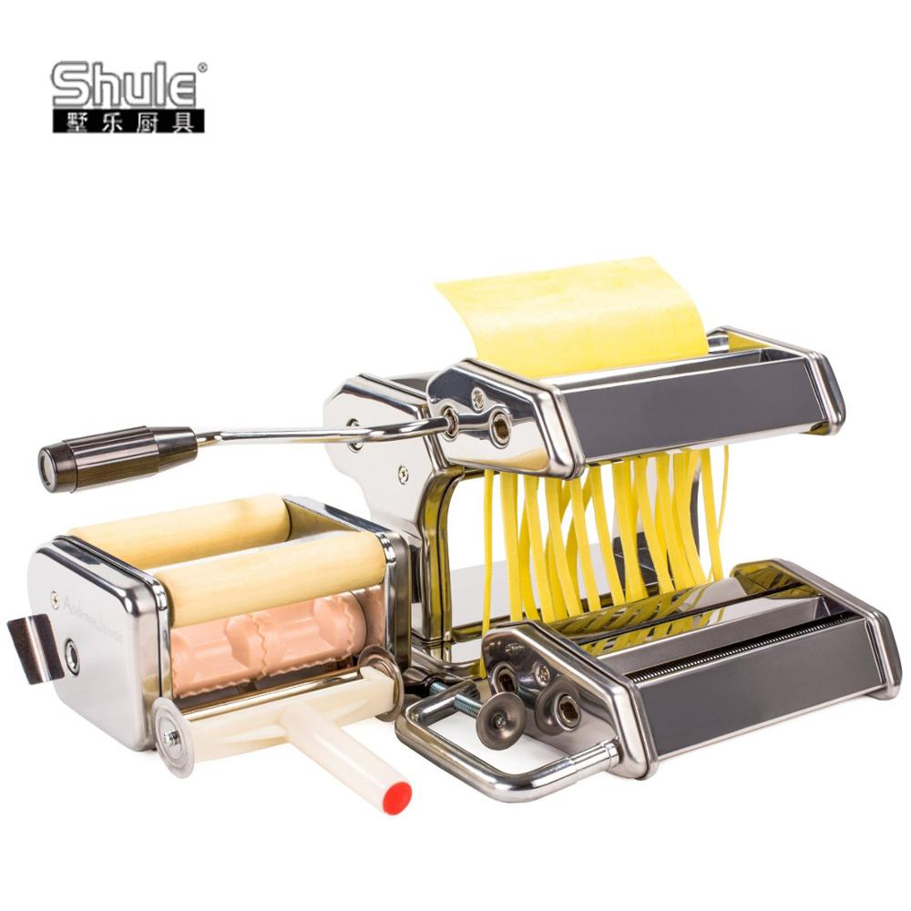 Home Use Stainless Steel Pasta Set (4 in 1) for Making Fresh Pasta at Home
