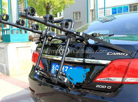 folding bike rack for car bicycle carrier/Rear bike hook for 3 bicyle