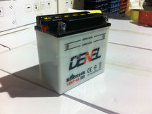 Long Working Life Lead Acid 12 Volts 12N7-4A Motorcycle Battery