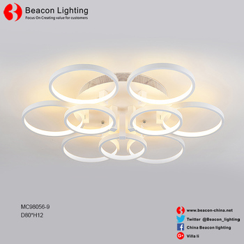 New Product 2017 Led Lamp Ceiling Smart Graceful Line Of Beautiful Lights With 30000 Hours Commercial