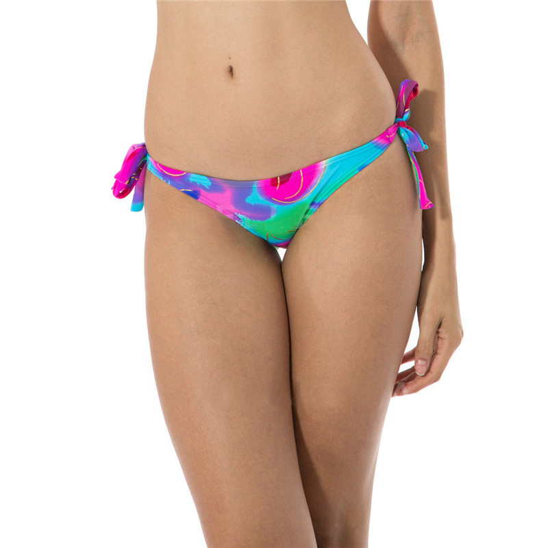 Get Quotations · 2015 Sexy bikini thong Swimsuit Fashion Model Bronzing  Abstract Printing Swimsuit Separately Low-waist Bandage