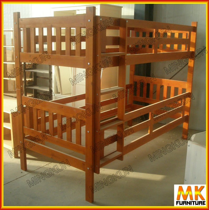 Russian Pine Bunk Bed With Poplar Plywood Slats Buy Pine