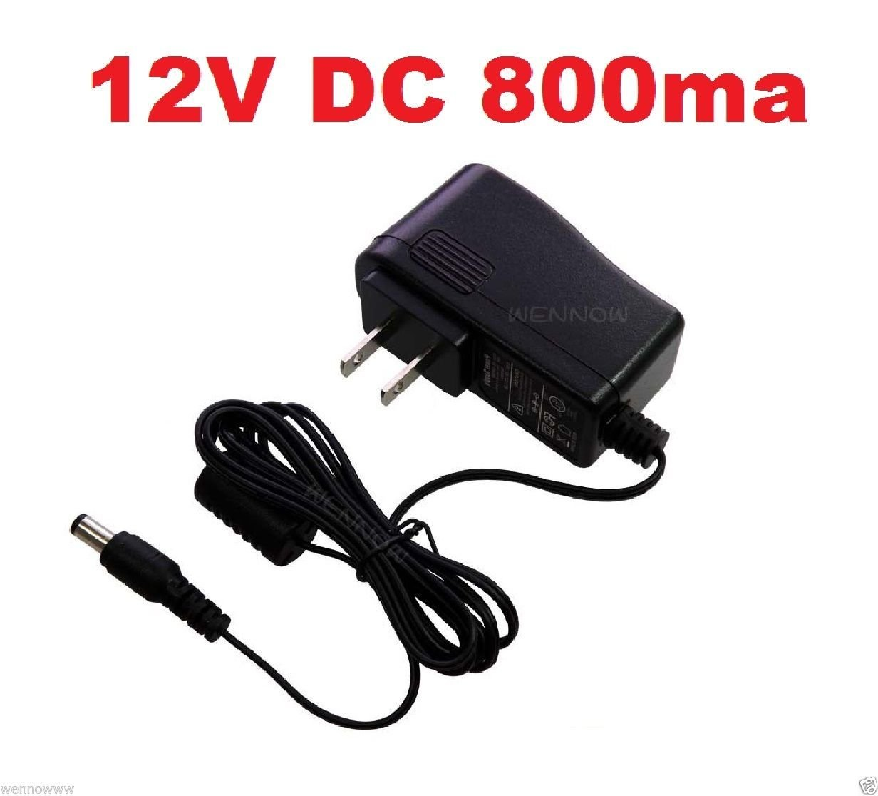 wennow 12v Dc 800ma Regulated CCTV Camera Power Supply Dc 12v Power Adapter