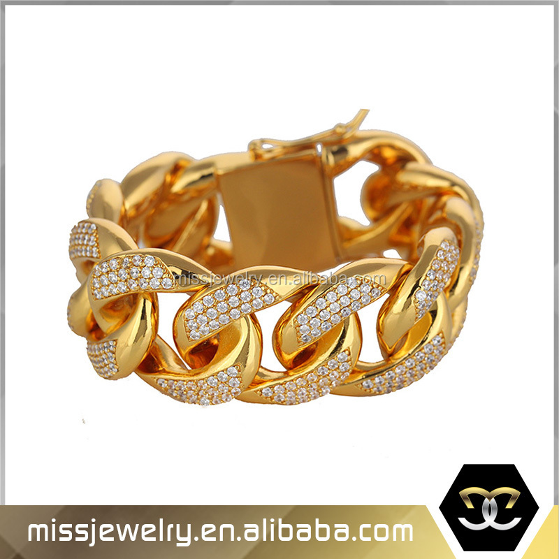 2016 Fashion New Cuban Link Tanishq Gold Bracelet Model Designs ...