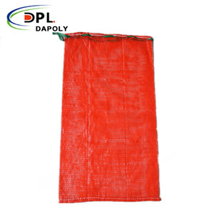 2018 Orange PP Plastic Leno Mesh Bag For Onion