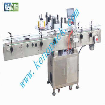 Low price KENO-L103 automatic bottle shrink sleeve labeling machine