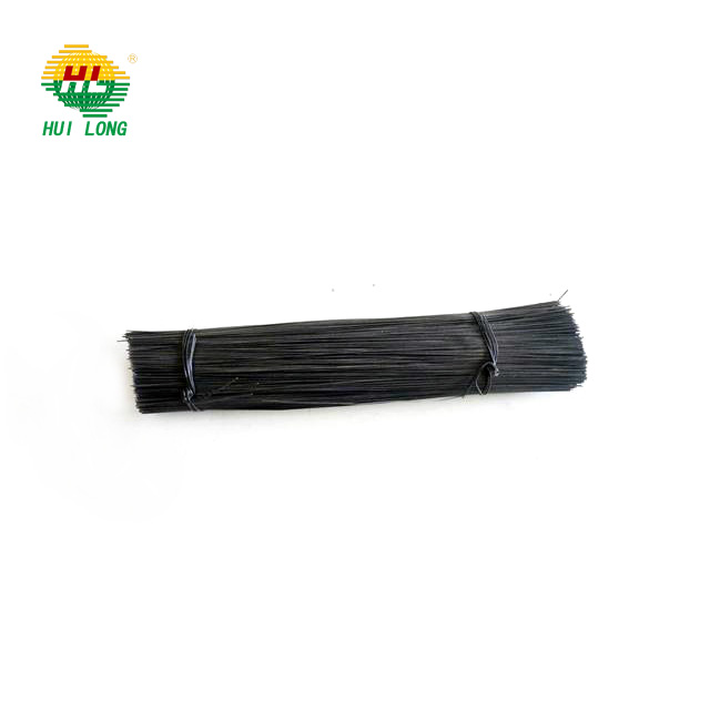 Black annealed wire bwg20 Malaysia/ loop tie wire/good quality 20gauge straight cutting wire