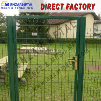 doble puertas valla para jardnpuerta de la cerca elctrica con precio barato