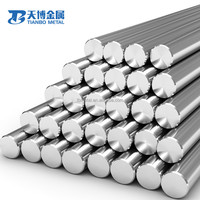 ASTM B348 Gr5 ASTM F136 F67 titanium round bar / rod for sale in medical implant hot sale in stock manufacturer baoji tianbo