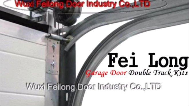 Garage Door Double Track Kits Non Rustgalvanizing Treatment
