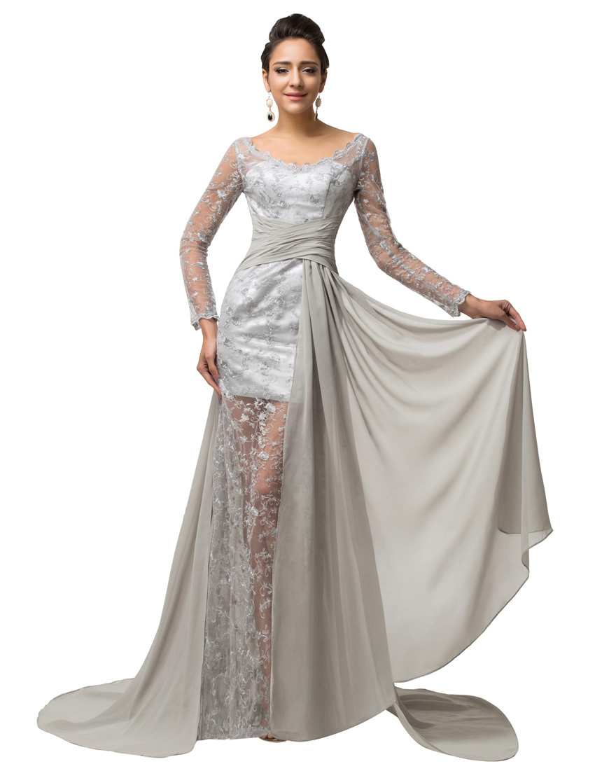 Cheap Grey Long Formal Dress, find Grey Long Formal Dress deals on ...