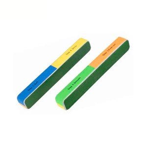 Fashion colorful disposable nail file and buffer block