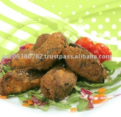 T & T Foods Breadcrumb Coating Eggplant Snack