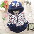 Retail 2015 New Girls Mickey Minnie Jacket Baby Boys Girls Cotton Winter Thick Warm Coat Children