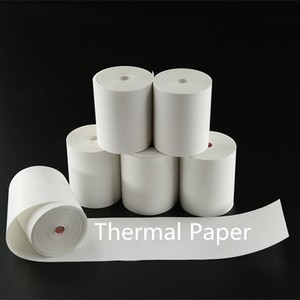 plastic pipe core cash register paper thermal paper rolls