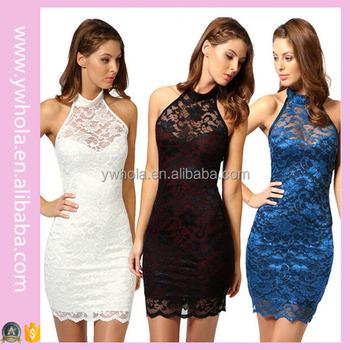Chinese Halter Dress