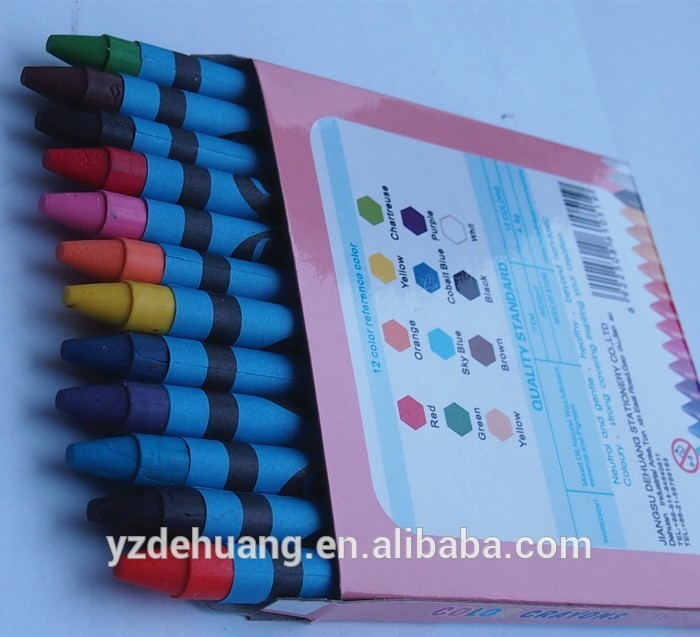 Manufacturers Wax Non-Toxic Wholesale Crayons For Promotion