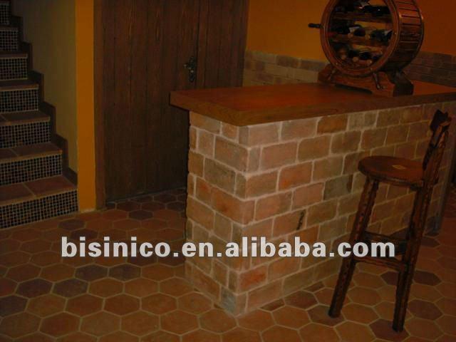Pisos de baldosas de terracota antiguos casa de campo - Baldosas de terracota ...
