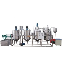 palm oil degumming machines/petroluem crude oil refinery/edible oil refining machines