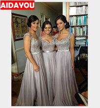 Элегантное кружевное платье подружки невесты для беременных с длинным рукавом Макси для банкета, выпускного вечера, платья для мам, бальное...(Китай)