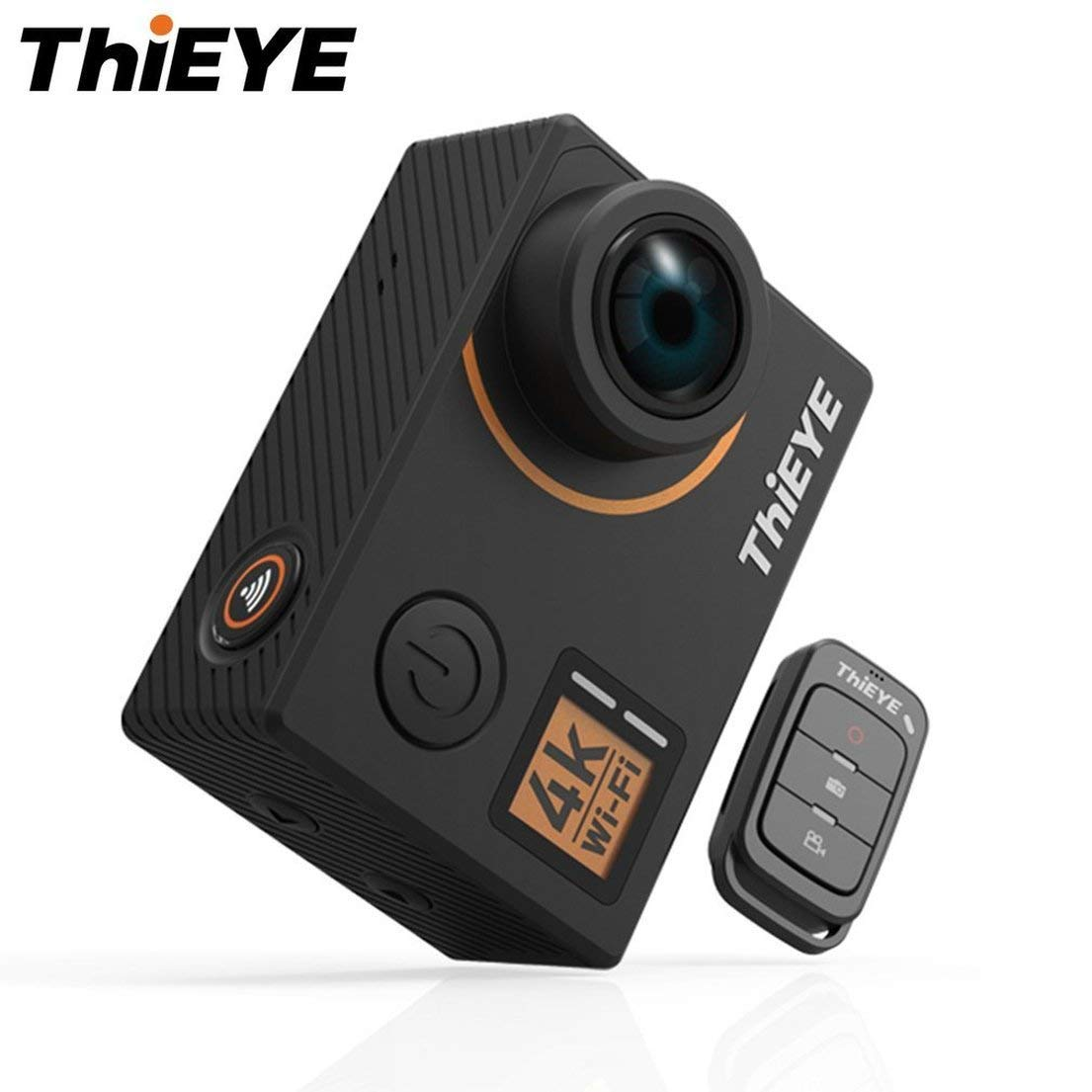 """ThiEYE T5 Edge 4K WiFi Action Camera 170°Wide Angle Lens 2"""" LCD Cam 1080P HD Sports Camera Support Voice Remote Control"""
