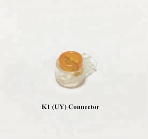 UY K1 single wire connector waterproof fast/quick phone line connector