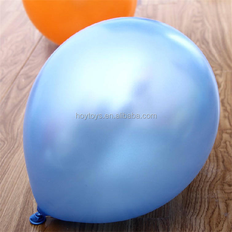 100% nature Latex 12 inches metallic color latex balloons