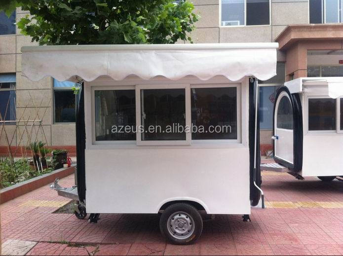 Small Mobile Food Trailer Cart Cooking