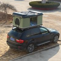 Camping Car Top Auto Tent Roof Top Tent Hard Shell Camper Trailer Rooftop Tent with Rack