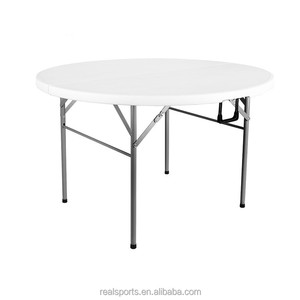Niceway Hot Sale 8 Seater Round Plastic Table Top For Picnic Camping