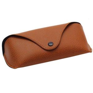 Portable Unisex Faux Leather Eye Glasses Sunglasses Holder Box Case Cover