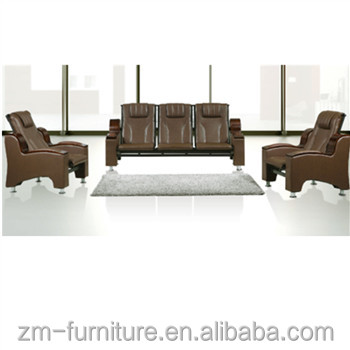 Office Furniture Brown Leather
