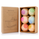 Private label custom natural organic fizzy bath bomb gift set natural