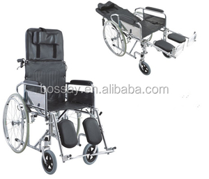 Good Quality High Back Folding Reclining Wheelchair